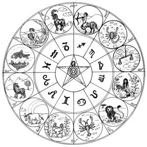 roue zodiacale