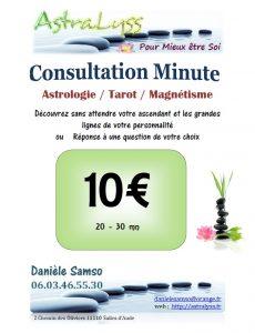 consultation minute