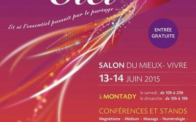 Evènement : Partage des Sens CIEL les 13 et 14 juin à Montady 34
