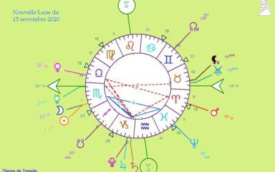 Nouvelle Lune du 15 novembre – Les énergies s'accélèrent